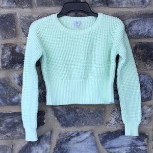 Bar III Knit Turkoise Chunky Sweater